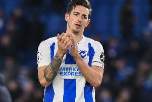 Brighton defender Lewis Dunk. Picture by PW Sporting Photography