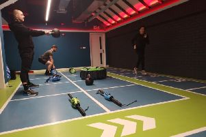The new fitness studio at the Prince Regent