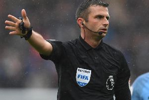 Michael Oliver. Picture by Getty Images