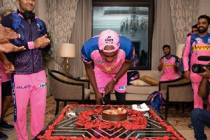 Jofra Archer's birthday is celebrated in the Royals camp