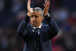 Brighton & Hove Albion boss Chris Hughton. Picture courtesy of Getty Images.