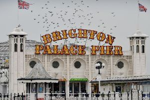 Emergency services have been called to Brighton Palace Pier