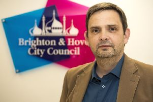 Cllr Daniel Yates, leader of the Labour Group on the Brighton & Hove City Council