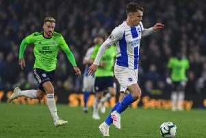 Solly March in action against Cardiff. Picture by PW Sporting Photography