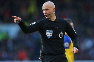 Anthony Taylor. Picture by Getty Images