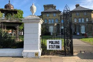 A polling station at Hove Museum (Credit: BrightonHoveCC)