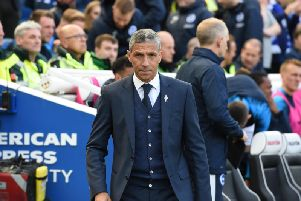 Brighton & Hove Albion boss Chris Hughton. Picture by PW Sporting Photography