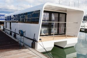 Ever considered living in a houseboat?! You can live in it for 320 days a year and the boats come in three sizes. Prices start at 171,600.