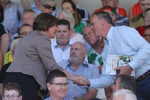 The sermon cited Arlene Foster's attendance at a GAA match on a Sunday as evidence of the DUP's move away from the values of the Free Presbyterian Church