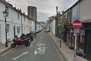 Tidy Street, Brighton. Picture via Google Streetview