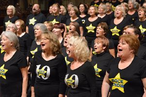 Rock Choir members will be performing across the county. Picture: Paul Singer