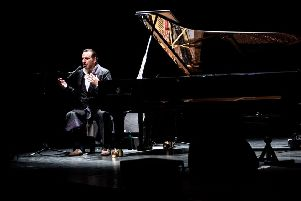 Chilly Gonzales at the Brighton Dome. Photo by Xavier Clarke