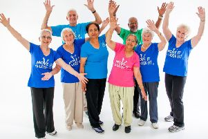A new fitness class for the over 60's has been launched in Battle SUS-190606-104645001