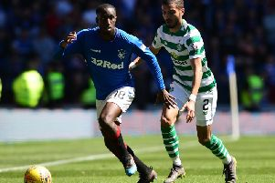 Glen Kamara in action for Rangers last season. Picture by Getty Images