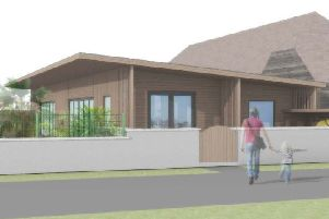 An artist's impression of the proposed new building for Gingerbread Nursery
