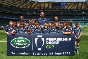 Chichester under-11s at Twickenham