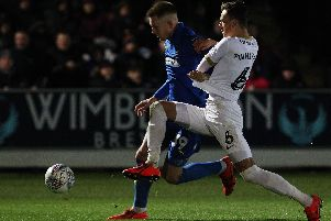 Ben White impressed at Peterborough United.