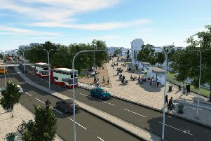 What Old Steine will look like if phase 3 of Valley Gardens is approved SUS-181110-142656001