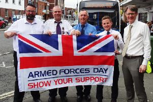 Stagecoach South is offering free travel to Armed Forces personnel with a valid ID on Armed Forces day this Saturday