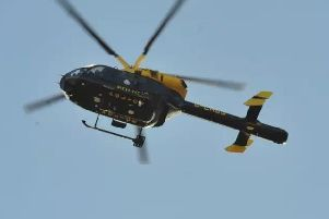 National Police Air Service (NPAS) helicopter