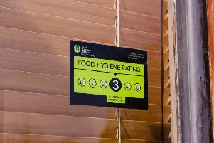 These are the takeaways in Brighton with zero or 1 star food hygiene ratings.