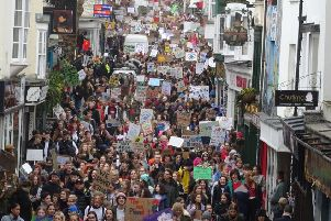 Brighton Youth Climate Strike back in March