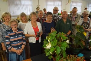 Some of the winners at Middle Rasen Horticultural Show EMN-190730-103808001