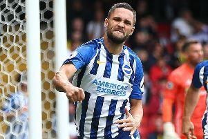 Florin Andone scored with his first touch after coming off the bench at Watford (Getty)