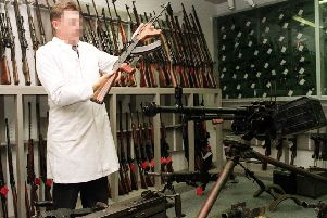 Back in 1998 the RUC put on display some of the weapons it had recovered from terrorist hides. The PSNI now admits it has around 3,000 Troubles weapons in its possession