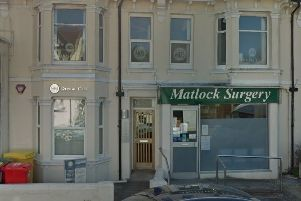 The current Matlock Surgery photo from Google Maps Street View