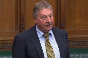 Sammy Wilson says Sinn Fein's veto over a restored assembly will not stop an all-Ireland DUP backstop alternative.