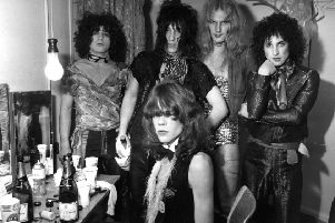 The New York Dolls ponder a post-Champagne visit to the gym. Photo  P Felix/Getty Images