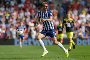 Brighton's Dan Burn play against his boyhood club Newcastle United (getty)