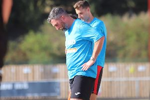 Nicky Eaden was disappointed with Kettering Town's 'end product' as they were held to a 1-1 draw by Sutton Coldfield Town. Pictures by Peter Short