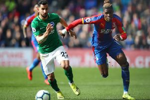 Brighton and Hove Albion's Premier League rivals Crystal Palace