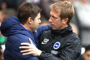 Graham Potter's Brighton and Hove Albion were the better team during their 3-0 victory against Mauricio Pochettino's Tottenham Hotspur at the Amex Stadium last Saturday
