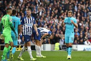 Brighton delivered a fine performance to beat Tottenham 3-0 at the Amex last Saturday