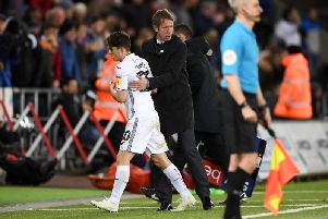 Former Swansea City manager Graham Potter helped Daniel James during a difficult period in his career
