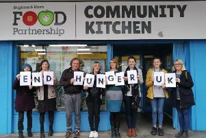 Brighton & Hove Food Partnership takes part in National End Hunger UK Week, which calls for an end to food poverty.