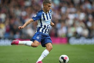Leandro Troassard hasn't featured for Brighton since the 4-0 loss at Manchester City after picking up a groin injury