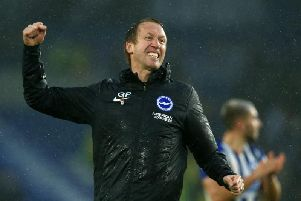 Brighton and Hove Albion manager Graham Potter has steered his team to eighth in the Premier league table after 11 matches