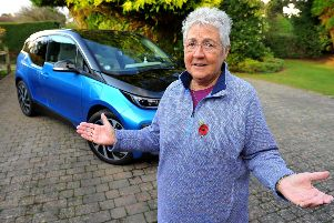 Jacky Pearson from High Salvington is frustrated by her high car tax. Pic Steve Robards