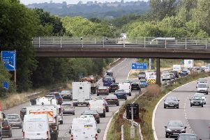 The M23 is one of a number where smart motorways are planned / Picture by Derek Martin
