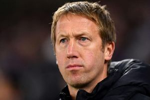 Brighton and Hove Albion manager Graham Potter was pleased with a point against Wolves