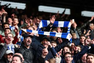 Brighton and Hove Albion fans will travel to Selhurst Park on Monday night