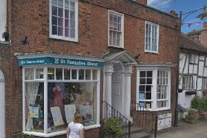 The St Barnabas House charity shop in Steyning. Picture: Google Maps