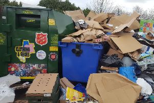 Oxford Road Tesco in Brackley recycling point has been closed due to illegal waste dumps NNL-180727-102556001