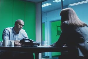 A scene from the popular advert