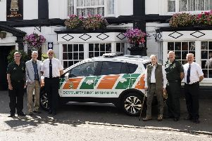 First response vehicle donated to Winslow community