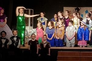 Photo from yesterday's performance of Mary Poppins at the Royal Latin School - the audience consisted of primary school pupils from across Buckingham